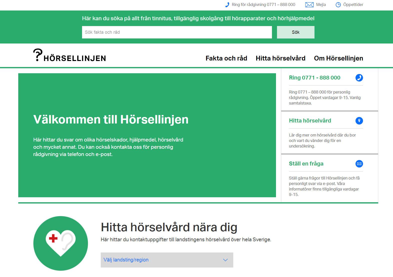 horsellinjen.se