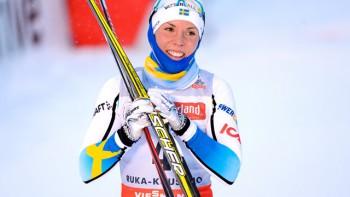 Charlotte Kalla, svenskt medaljhopp