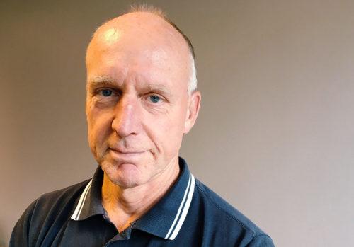Porträtt på Alf Lindberg