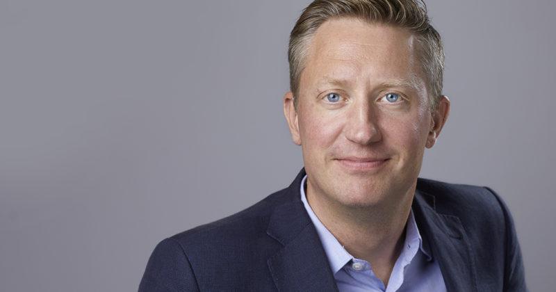 Porträtt på Mattias Lundekvam, HRFs förbundsordförande