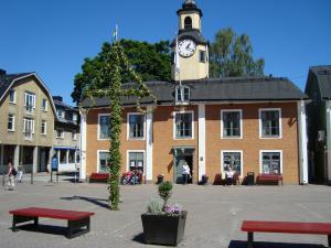Rådhuset i Östhammar. Foto: Lars-G Bergh