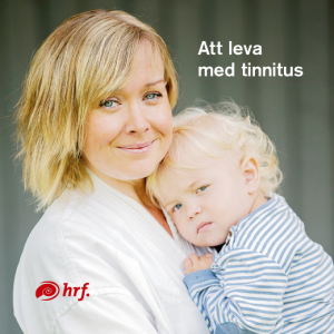 """HRF:s broschyr """"Att leva med tinnitus""""."""